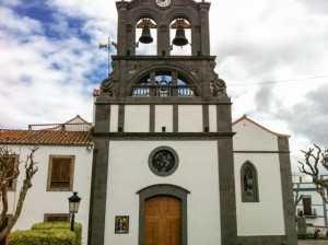 Gran Canaria Nord Firgas kirken