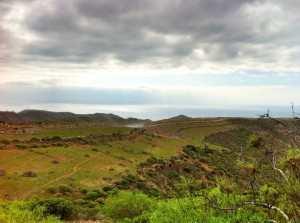Gran Canaria Sør etter regn