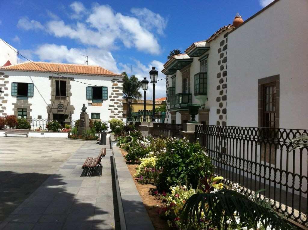 Gran Canaria Øst Telde Torget i Gamlebyen