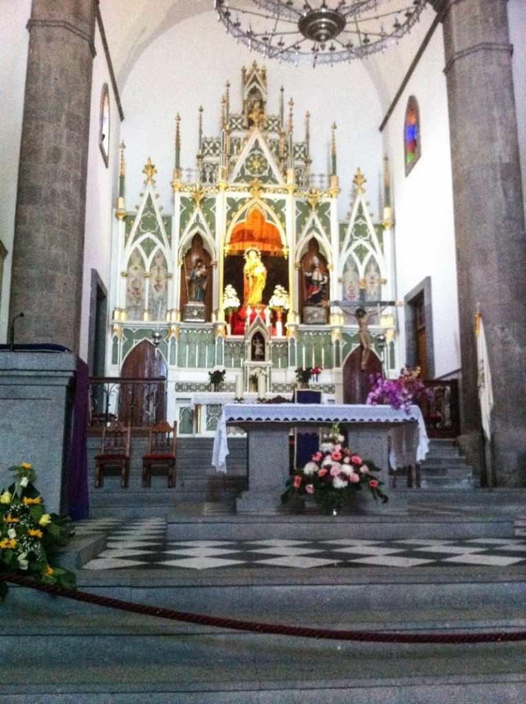 Gran Canaria Øst Ingenio Kirken interiør