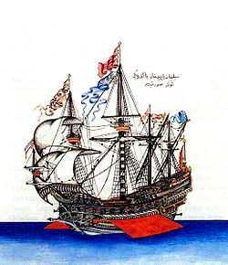 Kanariøyenes historie Göke (1495) flagshipet til Kemal Reis