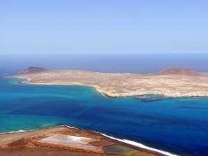 La Graciosa fra Lanzarote