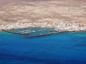 La Graciosa havneområdet