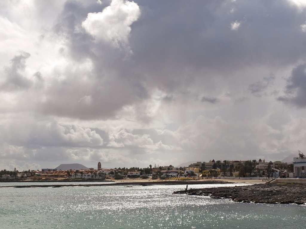 Corralejo seaside, fuerteventura Kanariøyene