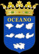Kanariøyenes historie - Det Castillianske og Spanske våpenskjold for Kanariøyene