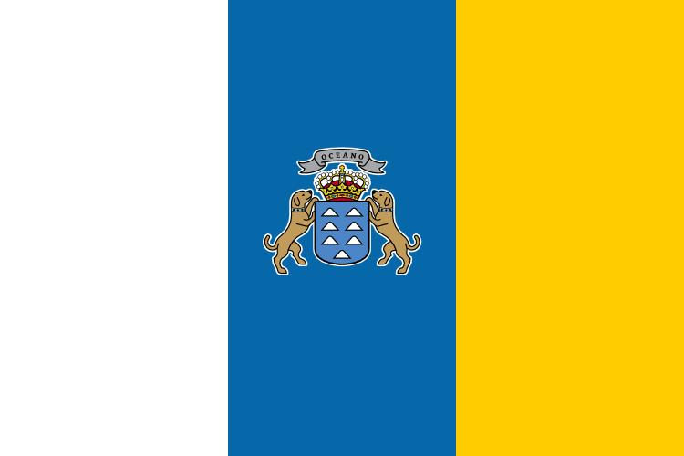 Flagg Kanariøyene