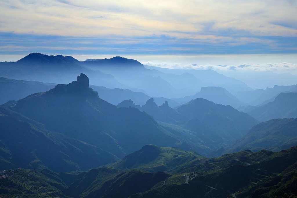 Gran Canaria Vest Caldera de Tejeda Foto fra Facebook