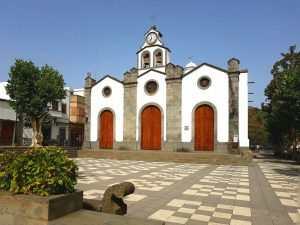 Inglesia de Saint Vicente Ferrer Valleseco Gran Canaria