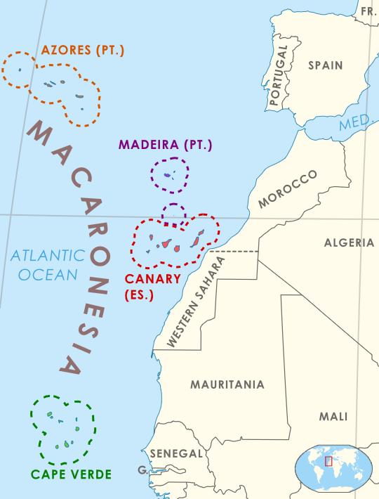 Kart Makaronesia