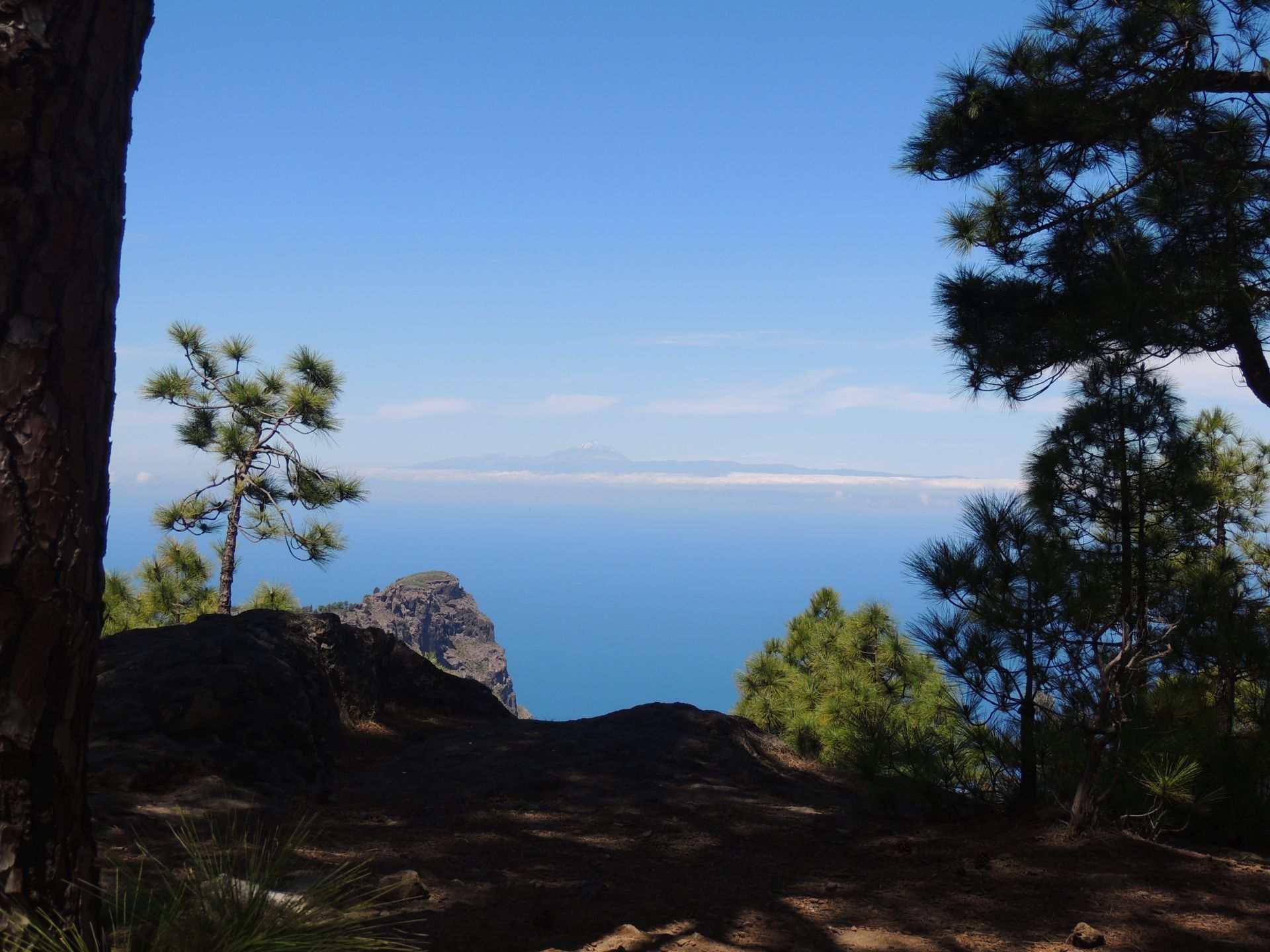 Utsikt fra Tamabada Agaete Gran Canaria Vest - Theislandsinthesun.com