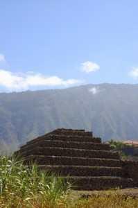 Kanariøyenes historie - Guanches step pyramids de Guimar
