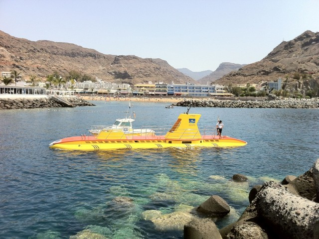 The Yellow Submarine Puerto Mogan Gran Canaria