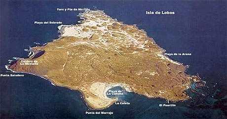 Isla de Lobos og Chinijoøyene Kanariøyene - lobos