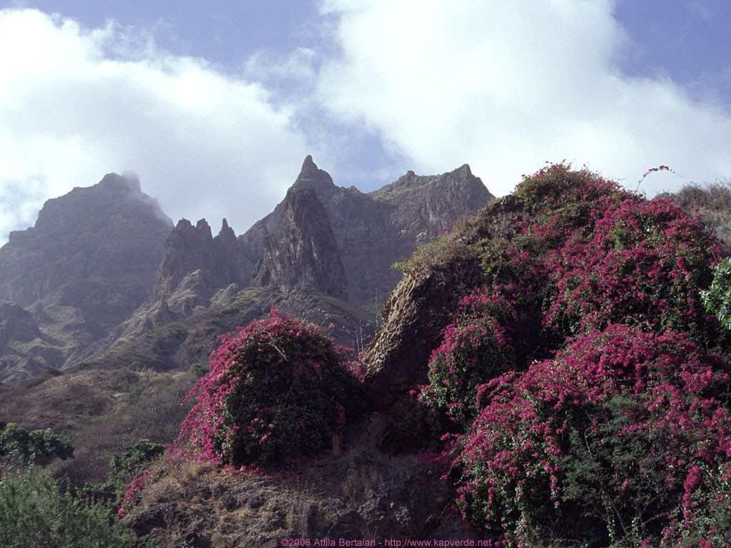 São Nicolau natur og fjell