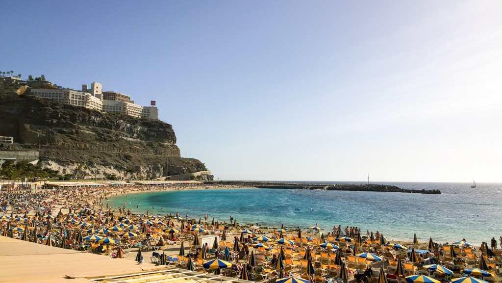 flytte til Gran Canaria - Amadores på en søndag
