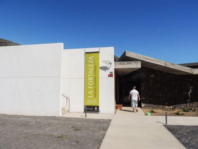 Besøks-senteret, La Fortaleza, Santa Lucia, Gran Canaria, Kanariøyene