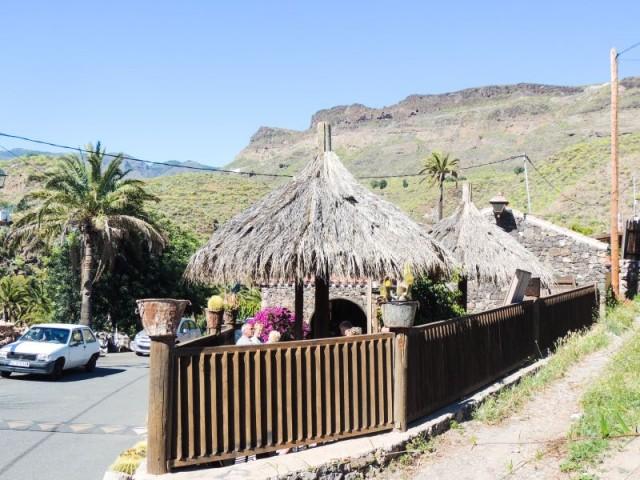 Restaurant, La Fortaleza, Santa Lucia, Gran Canaria, Kanariøyene