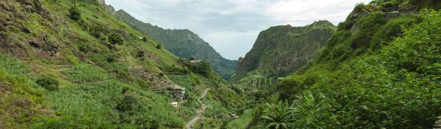 Grønne daler Santo Antao Kapp Verde