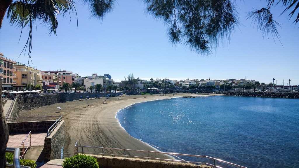 flytte til Gran Canaria - Stranda i Arguineguin hverdag