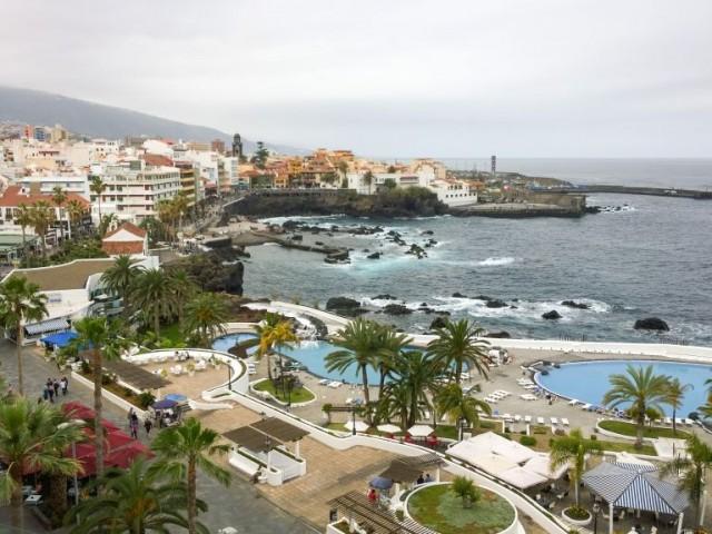 Bassengområdet Puerto de la Cruz, Tenerife