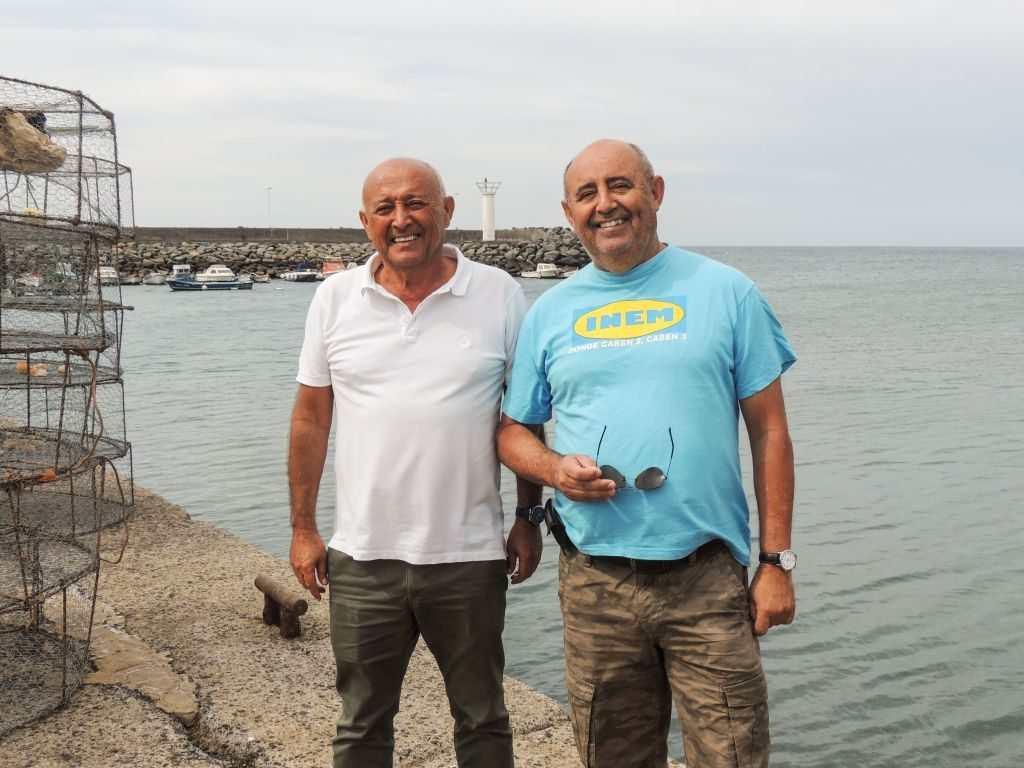 Fisketur på Gran Canaria - To av de tre kællane på tur