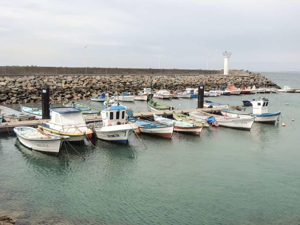 Fisketur på Gran Canaria - Castillo del Romeral Fiskebåter