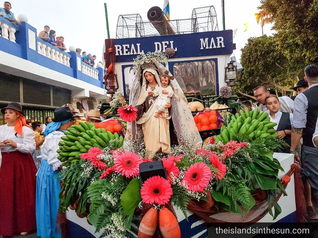 Romeria Fiesta del Carmen Arguineguin Gran Canaria