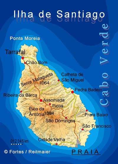 Santiago-map