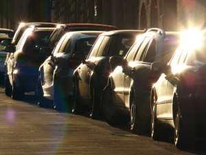 parkerte biler - parkering