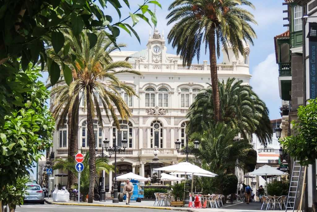 Las Palmas er kåret til byen med verdens beste klima