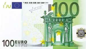 100-euro - parkering
