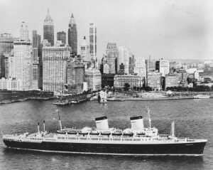 American Star NY Den Gang det het SS America