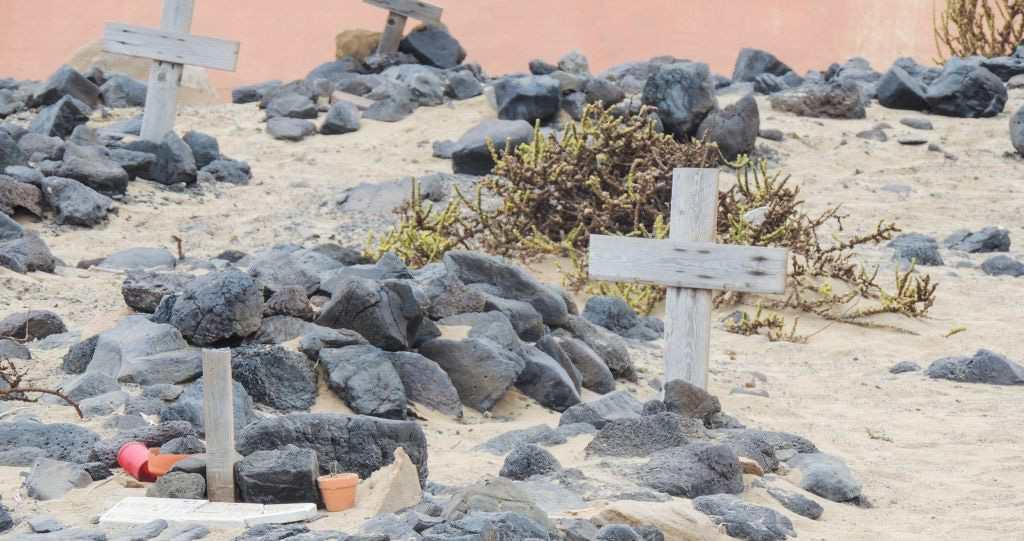 Graver Kirkegård Cofete Fuerteventura Villa Winter