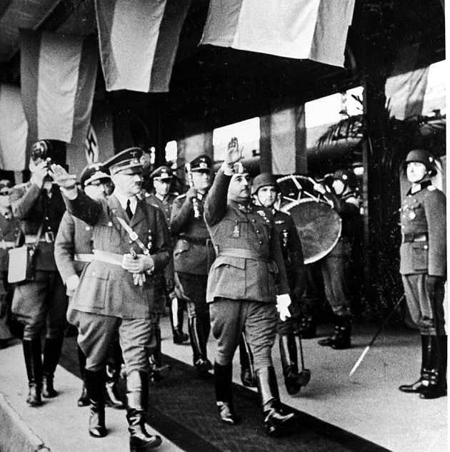 Hitler og Franco