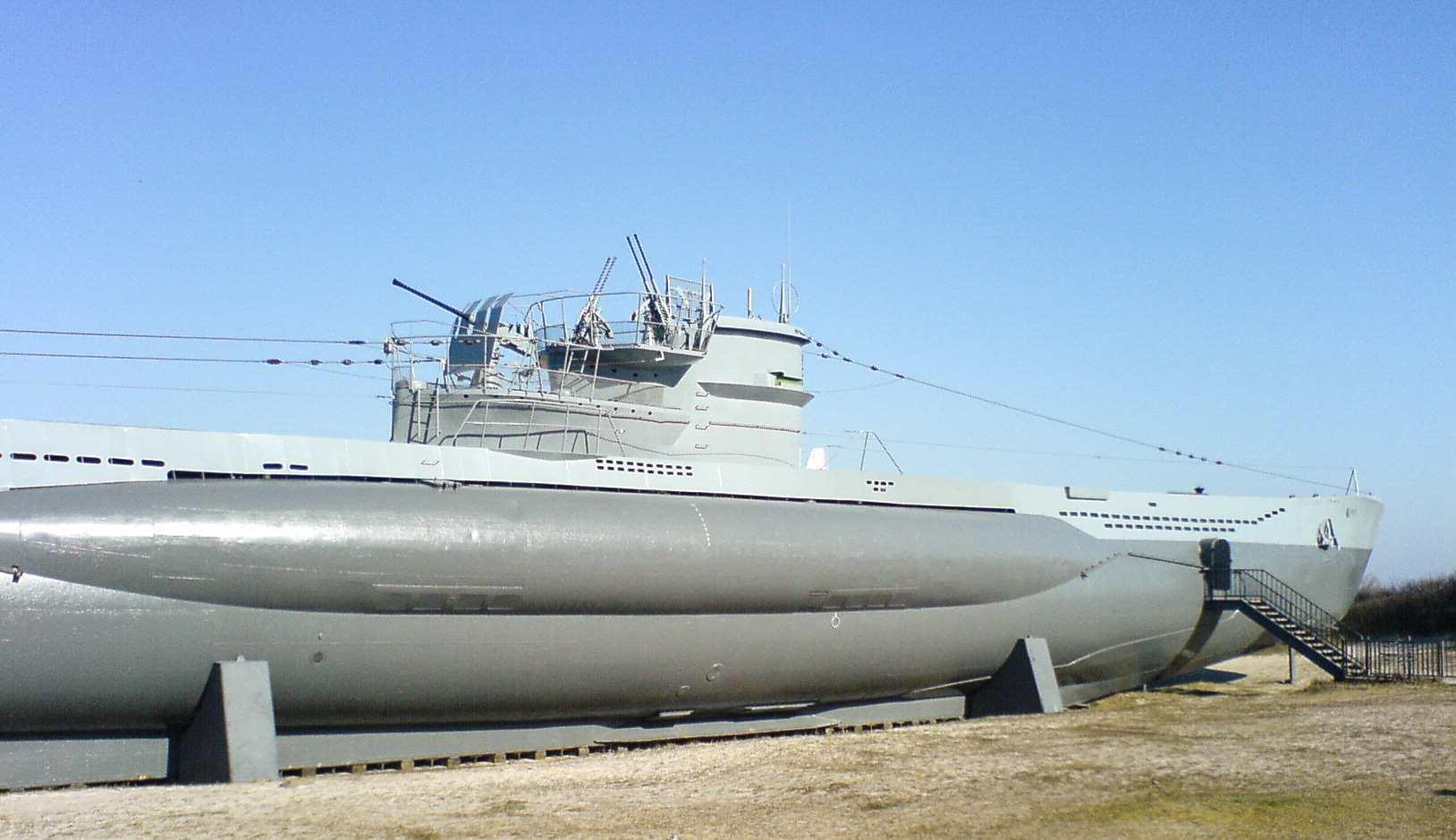 Tysk Ubåt Kiel