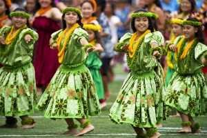 hawaiian hula dancers - Ukulelen
