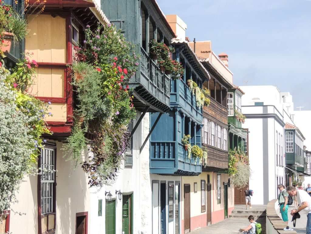La Palma Balkonger i to etasjer