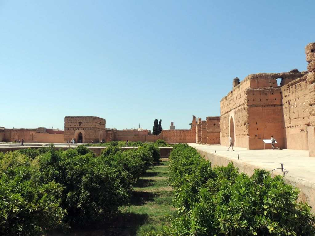 Reisen til Marrakesh i Marokko