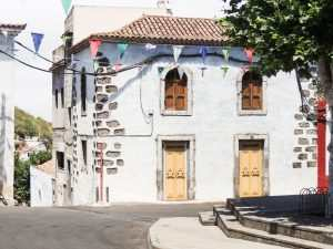 Fontanales i Moya ved kapellet