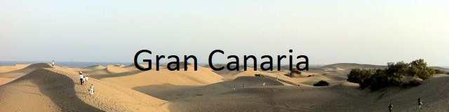 Strender Kanariøyene - Gran Canaria