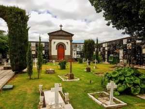 Dø i Syden, Kanarisk kirkegård