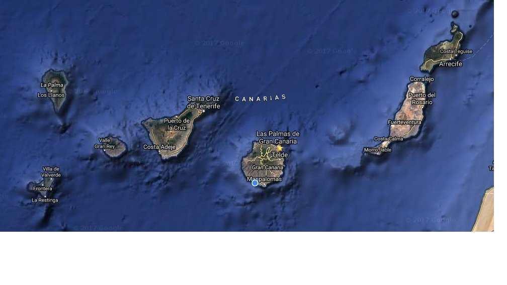 Flytte til Spania -Kanariøyene