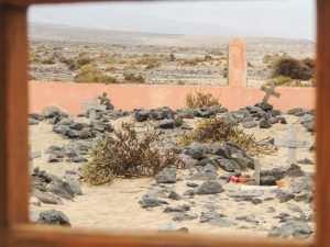 Dø i Syden, forlatt kirkegård på Fuerteventura