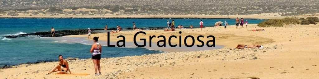 Strender Kanariøyene - La Graciosa