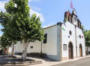 San Bartolome kapellet fra 1635 i Fontanales Gran Canaria