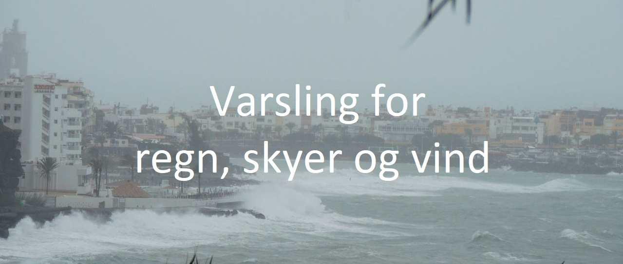 Værvarsling regn - theislandsinthesun.com