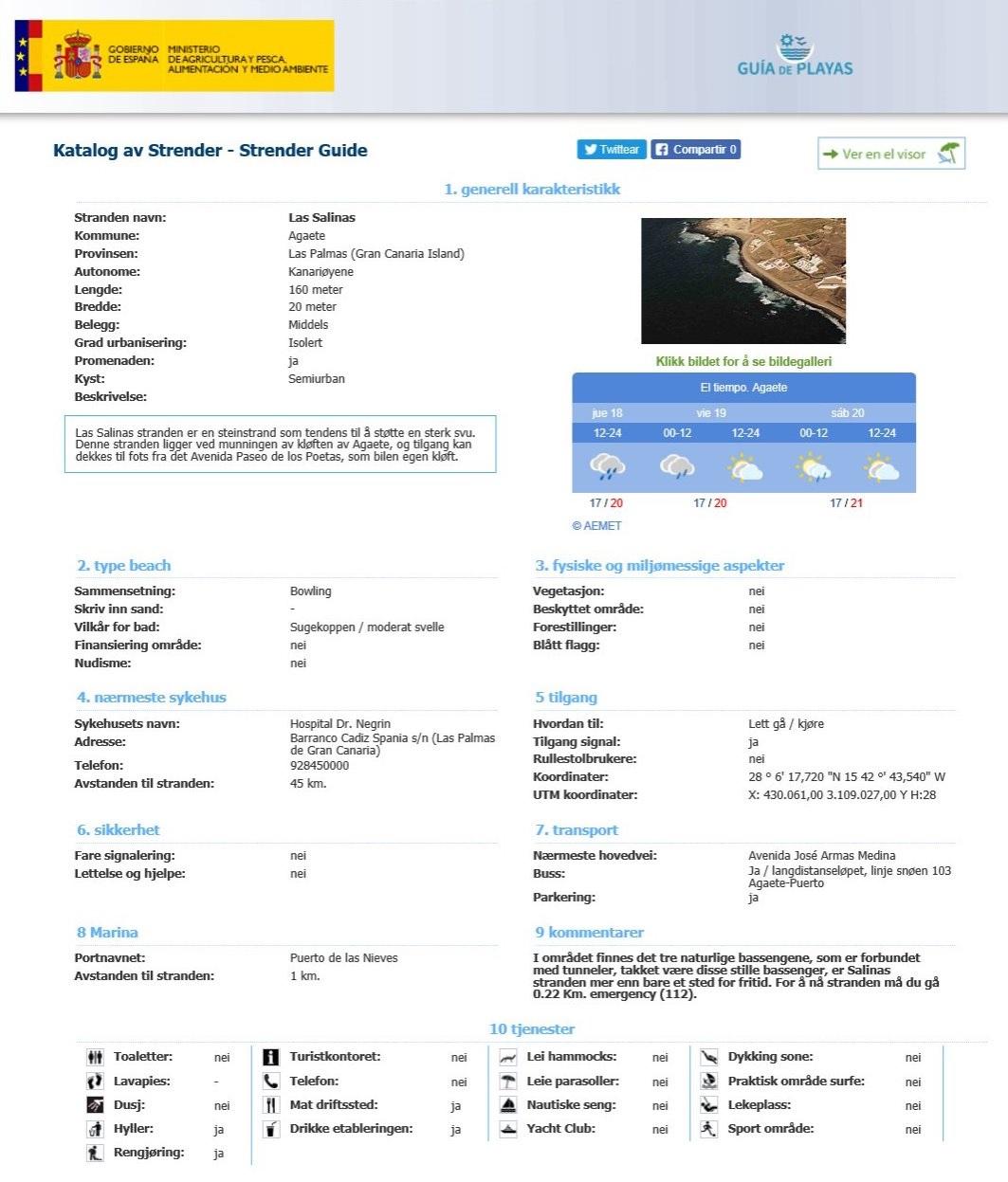 Miljøverndepartementets strandguide - theislandsinthesun.com naturiststrender