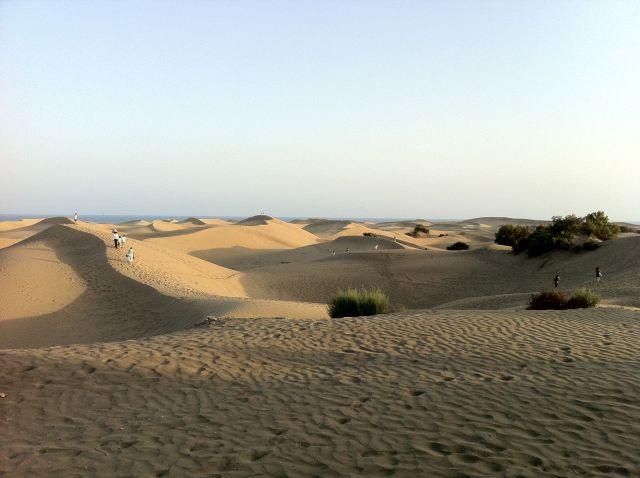 Dunas de Maspalomas/Maspalomas dunes