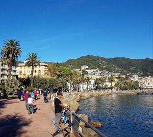 Rapallo Strandpromenaden