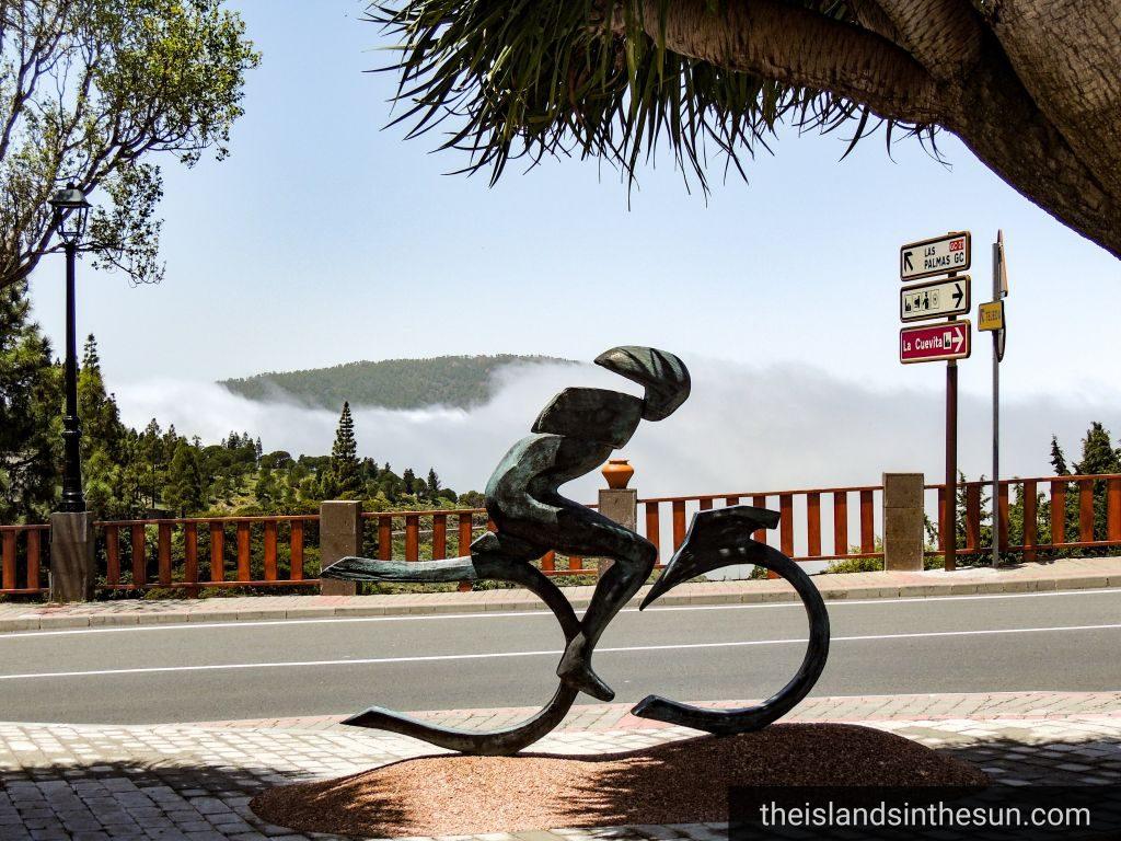 Artenara Cyclist Manuel Gonzáles Muñoz